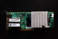 HP 10GbE Netzwerkkarte NC523SFP, 2 x SFP+, PCIe x8, 593715-001 593742-001, LP