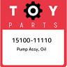 15100-11110 Toyota Pump assy, oil 1510011110, New Genuine OEM Part