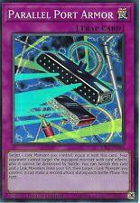 YU-GI-OH CARD: PARALLEL PORT ARMOR - SUPER RARE - CIBR-ENSE4