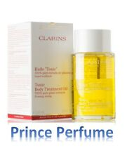 CLARINS TONIC BODY TREATMENT OIL 100% PURE PLANT EXTRACTS FIRMING TONING - 100ml