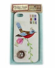 SANTORO London iphone 5 & 5s Rigid Plastic Case Cover - Watercolour Bird