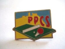 PINS RARE TENNIS DE TABLE PING PONG PPCS CLUB DE SAINT SEBASTIEN wxc 31