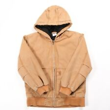 CARHARTT Hooded Chore Jacket | Boy's M | Coat Hoodie Hood Retro Vintage Duck