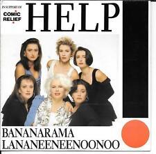 "45 TOURS / 7"" SINGLE--BANANARAMA--HELP--1989"