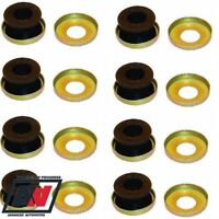 Weber DCOE Manifold Mounting Rubbers & Cups For 2 Carburettors Genuine Misab ADV