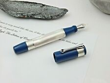 Fountain pen Santini Italia Limited Edition Calypso ebonite mother of pearl 18kt