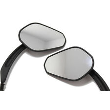Motorcycle Side Mirrors Black For Harley Touring Electra Glide Street Glide Dyna
