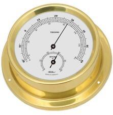 Comfortmeter,Maritimes Thermohygromètre,Laiton Poli 11 CM