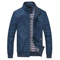 New Hot Men's Slim Collar Jackets Bomber Jacket Flight Tops Casual Coat Outwear