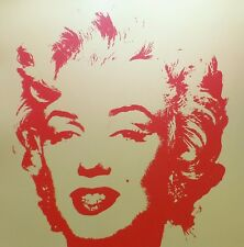 ANDY WARHOL GOLDEN MARILYN MONROE SUNDAY B.MORNING LIMITED EDITION 11.40 COA