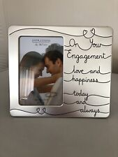 """Impressions By Juliana Engagement Photoframe New In Box 4x6"""""""