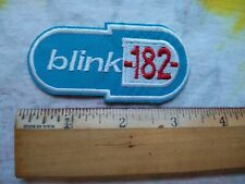 New ListingBlink-182 Pill Logo Mini 3 x 1.5 Inch Iron On Patch - Read Description