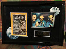 Apollo 11 National Geographic Signed By Neil Armstrong,Buzz Aldrin and M.Collins