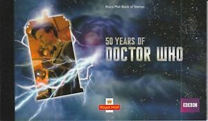 GB. QE. DR. WHO. PRESTIGE BOOKLET. SG DY6. MNH.