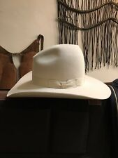 "Rand's Custom Hats ""Tom Horn"" Cowboy Hat 8x - Bone Color, Size 7"