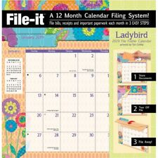 2019 Ladybird File It Wall Calendar, Pocket Wall by Lang Companies