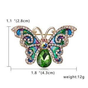 Wedding Bridal Bouquet Crystal Pearl Animal Insect Brooch Pin Jewelry Wholesale