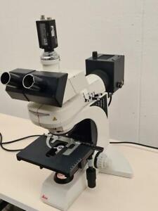 Leica DMLB Fluorescence Microscope.