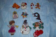 10 vintage MAKIT & BAKIT XMAS tree ORNAMENTS  COMPLETED