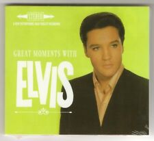 "ELVIS PRESLEY CD ""GREAT MOMENTS WITH ELVIS"" 2017 STEREO OUTTAKES FROM 1960-1964"