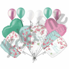 11 pc Cherry Blossom Love Balloon Bouquet Party Decoration Wedding Anniversary