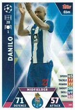 Topps Match Attax Champions League Card No. 350 Danilo FC