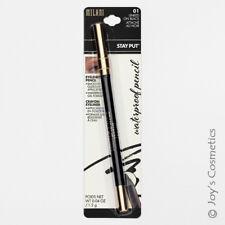 "1 MILANI Stay Put Waterproof Eyeliner Pencil ""MSPE01 - Matte Black "" *Joy's*"