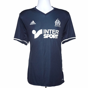 2016-2017 Marseille Away Football Shirt Adidas Large (Excellent Condition)