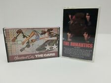 Rock Cassette Tapes Lot of 2 The Cars Heartbeat City & The Romantics In Heat