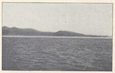 G0961 Afrique - Cote des Somalis - Baie de Tadjoura - Stampa - 1923 old print