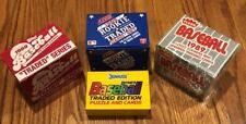 Baseball (4 Lot) 1989 Topps, Score, Donruss Traded Sets, Fleer Update