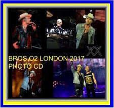 BROS O2 2017 TOUR  + 1800 PHOTO CD CONCERT SET 1+2+3 LIVE MATT LUKE GOSS