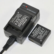 Charger +2x 940mAh Battery For Panasonic DMW-BLG10E DMW-BLE9 DMW-BLE9E DC-TZ90
