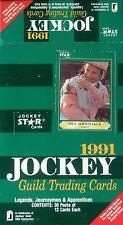 1991 Jockey Star Jockey Guild - Empty Display Box - SCARCE - Shoemaker on Box