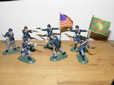 BRITAINS nordistes à pied, ACW Union Infantry-Irish Brigade, 52006, NEUF