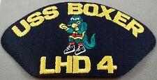 US Navy USS Boxer LHD-4 Cap Patch