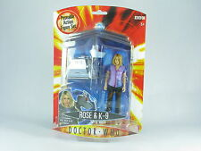 Doctor Who Rose and K9 Series 1 BBC MOSC New Unopened Ver 2