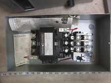 GE General Electric CR306D103 3P 45A 240V Coil Starter, New