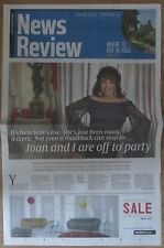Joan Collins – Sunday Times News Review magazine – 4 January 2015