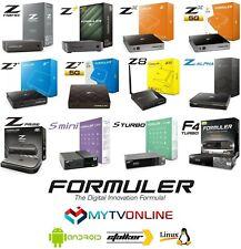 FORMULER  Z8 PRO GTV CC Z ALPHA Z+ NEO Z7+5G Z7+ ZX5G Z+ Z PRIME F4 TURBO Z NANO