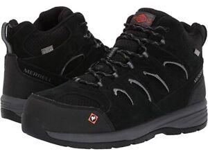 30% OFF--Merrell  Men's Waterproof Windoc Mid Steel Toe Work Safety Boots J17813