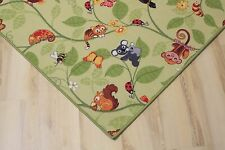 enfants Tapis Tapis de jeu JUNGLE velours vert 400x420 cm Jungle