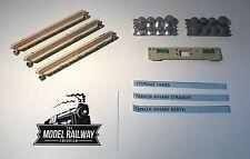 VINTAGE TRIANG MINIC SHIPS - M838/M854/M855 - TANKER WHARF BERTH/STRAIGHT/TANKS