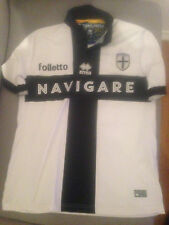 BENASSI #15 PARMA MATCH WORN/INDOSSATA SERIE D JERSEY/MAGLIA WITH COA. VERY RARE