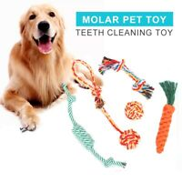 Dog Rope Toys Tough Strong Chew Knot Knotted Pet Puppy Healthy Teeth Bear au