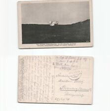 (n14501)   Ansichtskarte Kowel Handghranaten schlagen ein 1917  Feldpost na