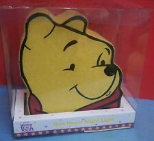 Disney Winnie the Pooh Rice Paper Night Light Baby Room Nursery In Original Box