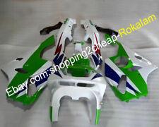 For Kawasaki Ninja ZX 6R 94 95 96 97 ZX-6R ZX6R Green White Motorcycles Fairing