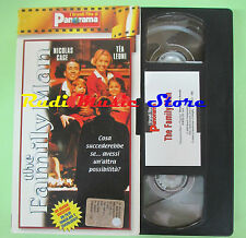 film VHS cartonata THE FAMILY Nicolas Cage Tea Leoni MAN PANORAMA (F173*) no dvd