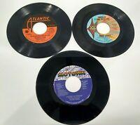 45 rpm Records Lot of DeBarge, Frankie Valli, Roberta Flack, Diana Ross + MORE